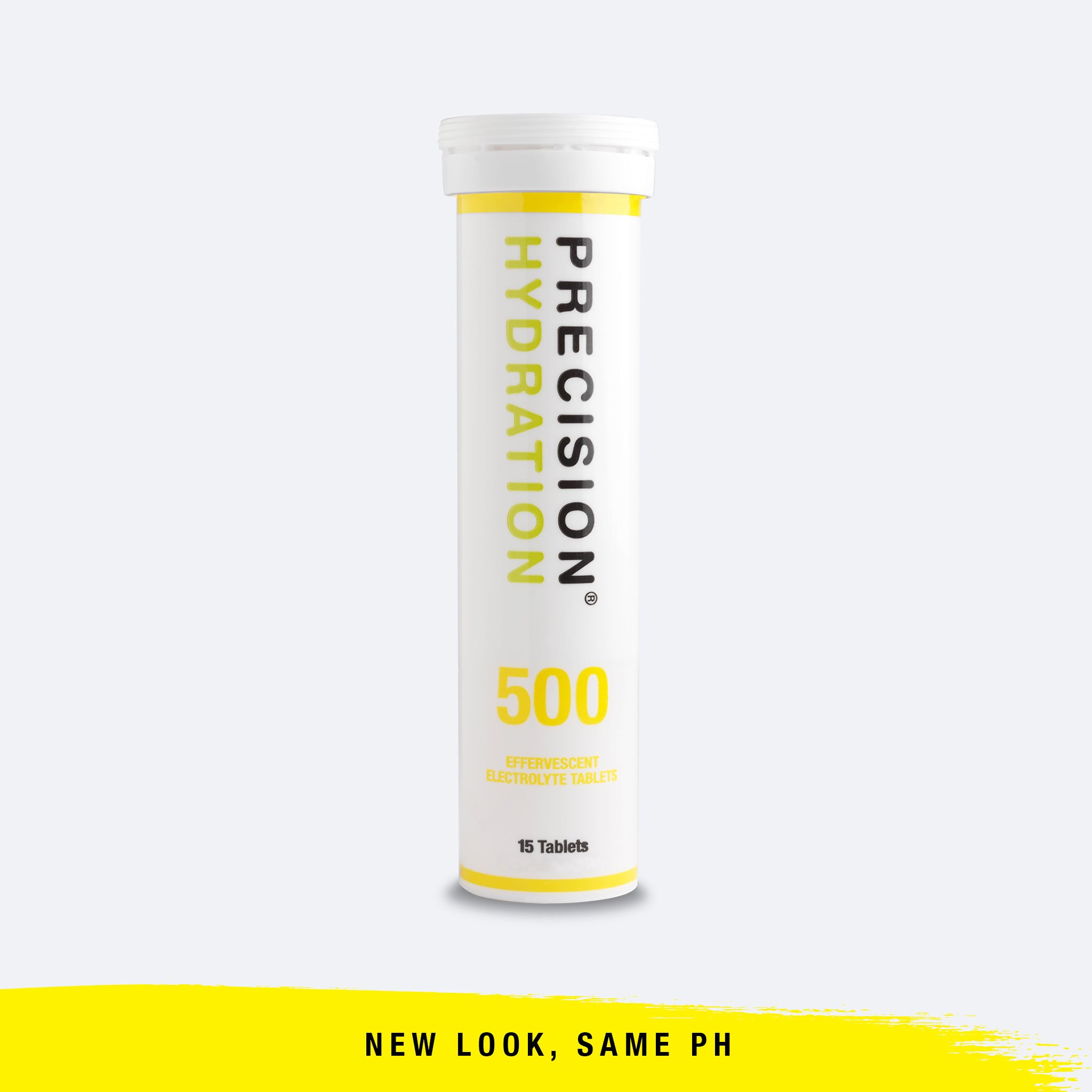 Tube of Precision Hydration 1000 Electrolyte tabs.