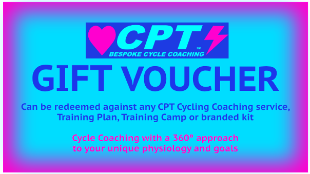 CPT Cycling Gift Voucher
